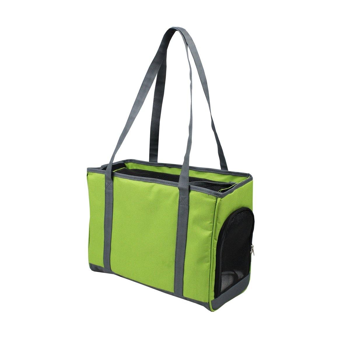 Bolsa de Mano de Tela Verde Fancy Pets Mod. Fl8813