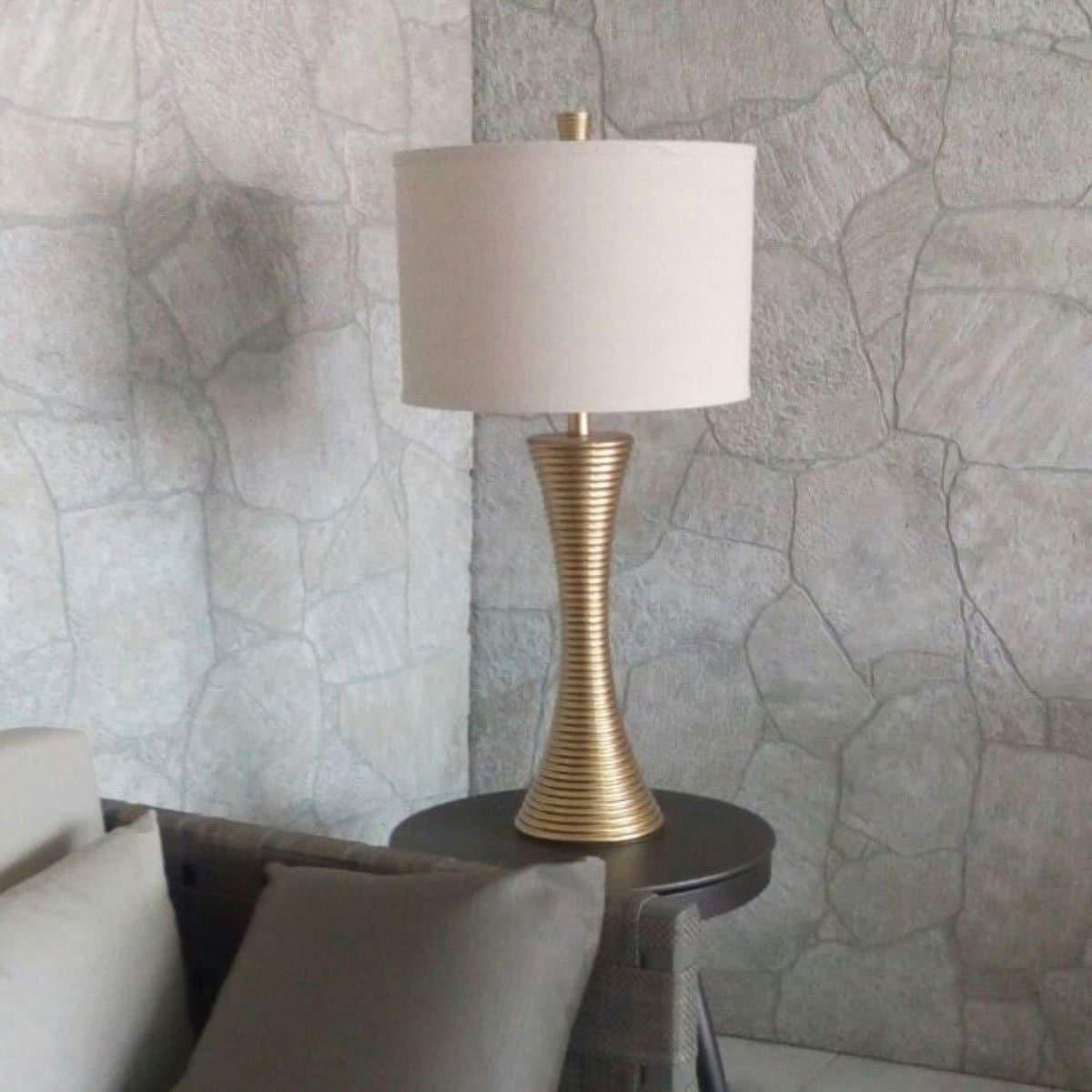Lámpara Mesa (Alt.79Cm.) 11901 / Vidrio / Estilo Moderno Inter Royal