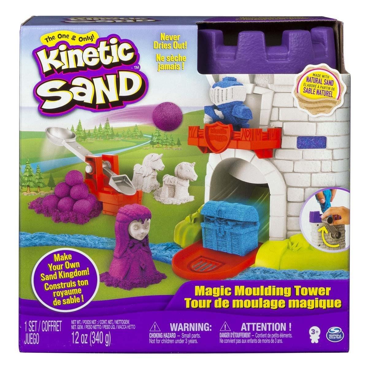 Kinetic Sand Castillo Mágico Modelador Spin Master