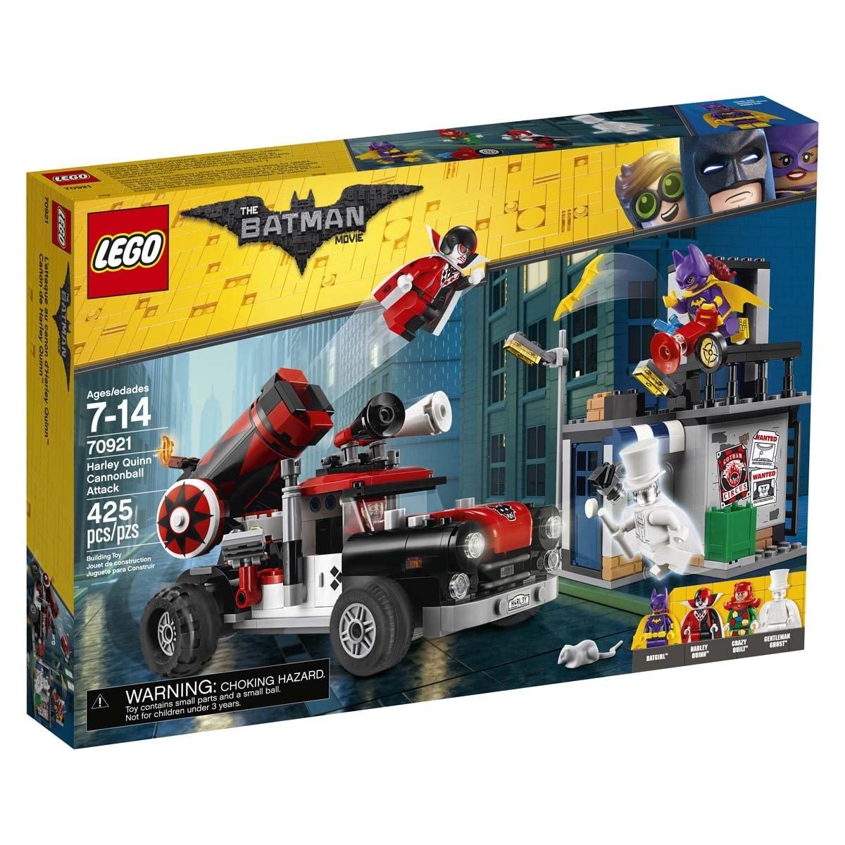 Cañón de Harley Quinn Lego