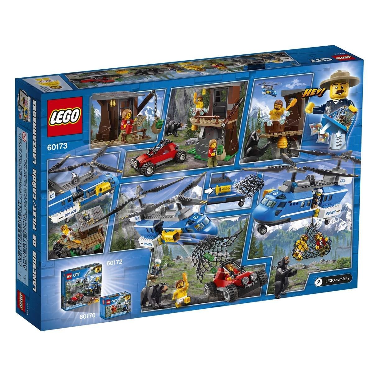 Montaña Arresto Lego