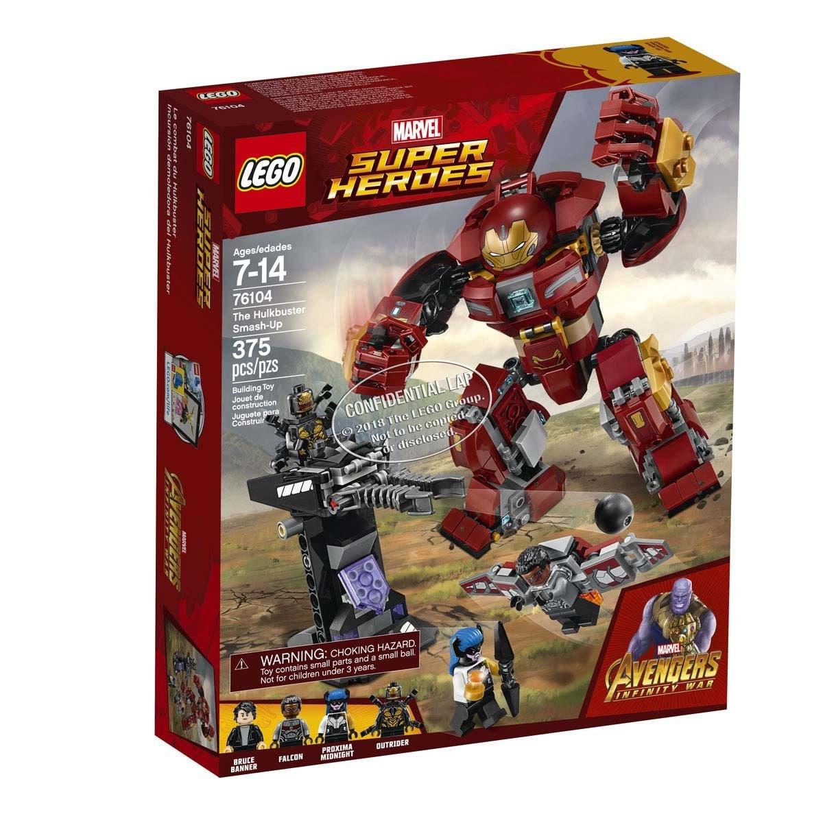 Incursión Demoledora Del Hulkbuster Lego