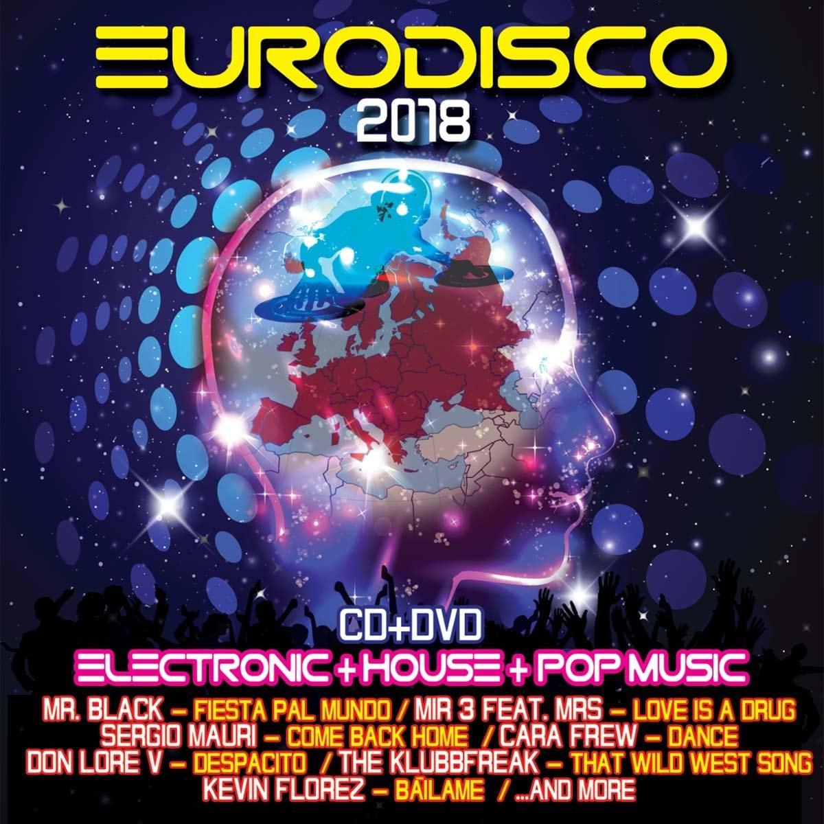 Cd + Dvd Eurodisco Electronic + House + Popmusic 2018
