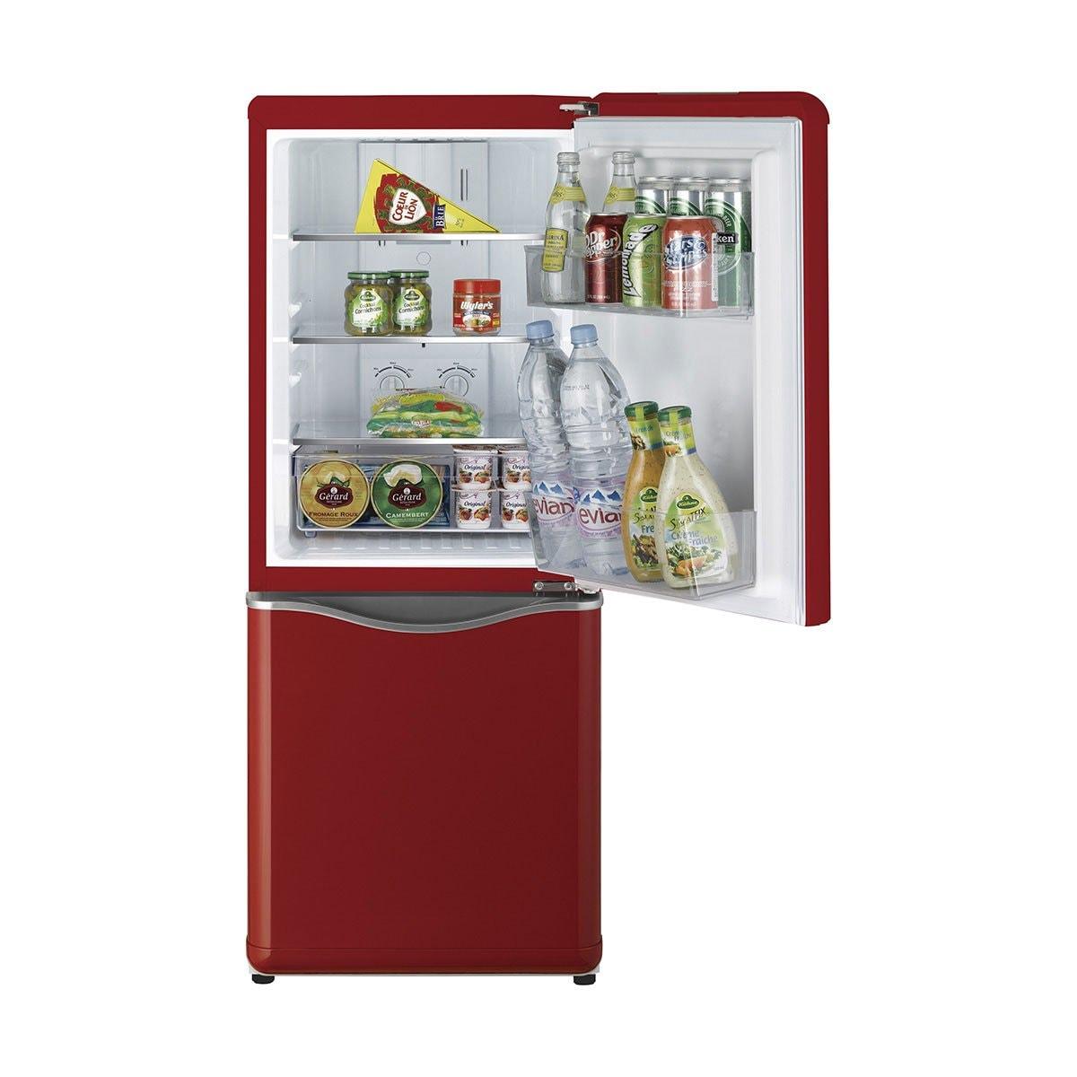 Refrigerador Combi Rojo 5P3 Tipo French Door