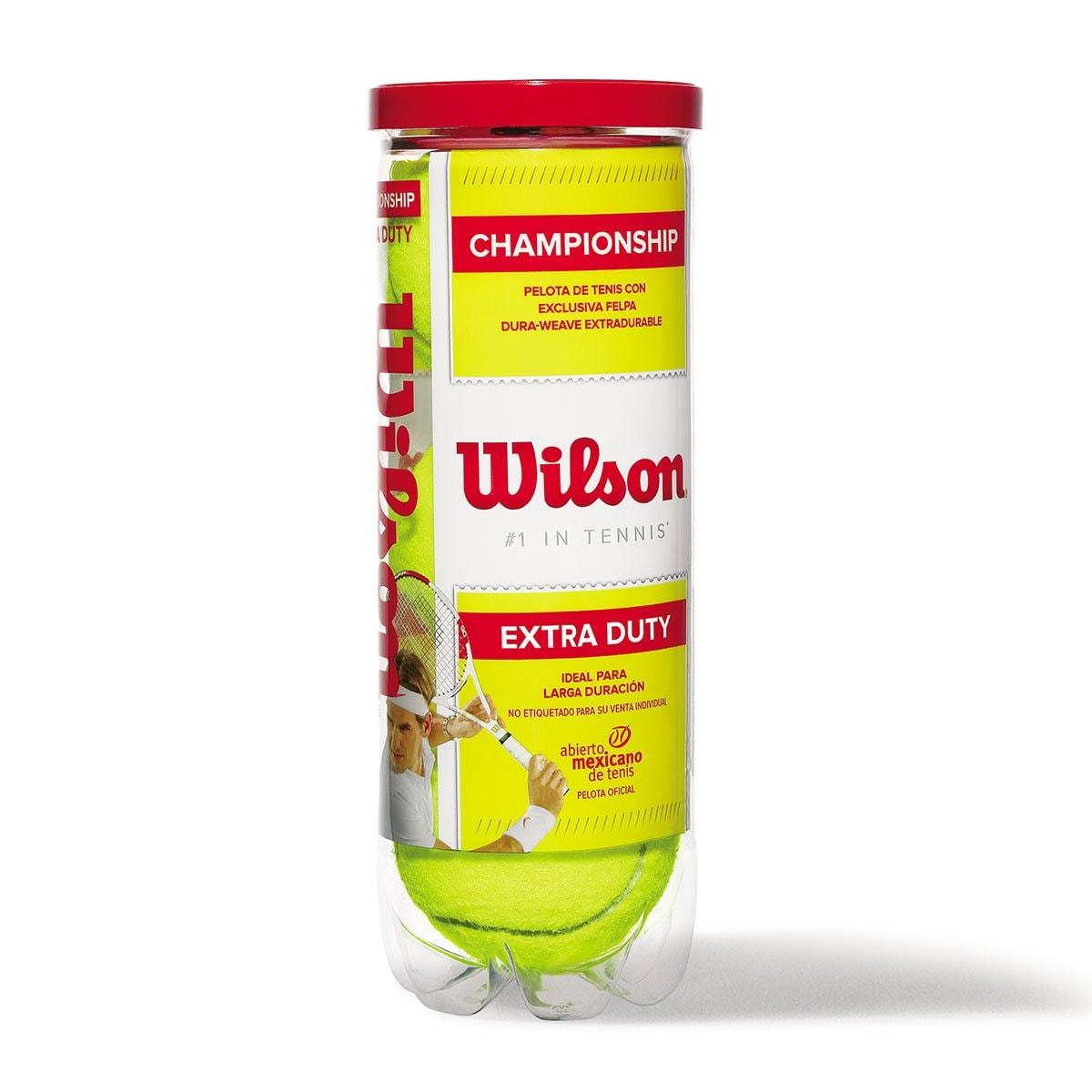 Pelotas de Tenis Nivel Del Mar Wilson