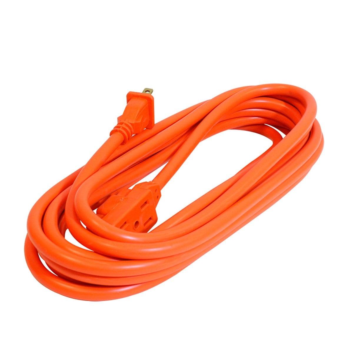 Sanelec 2408 Extensión Uso Rudo 5 M Naranja