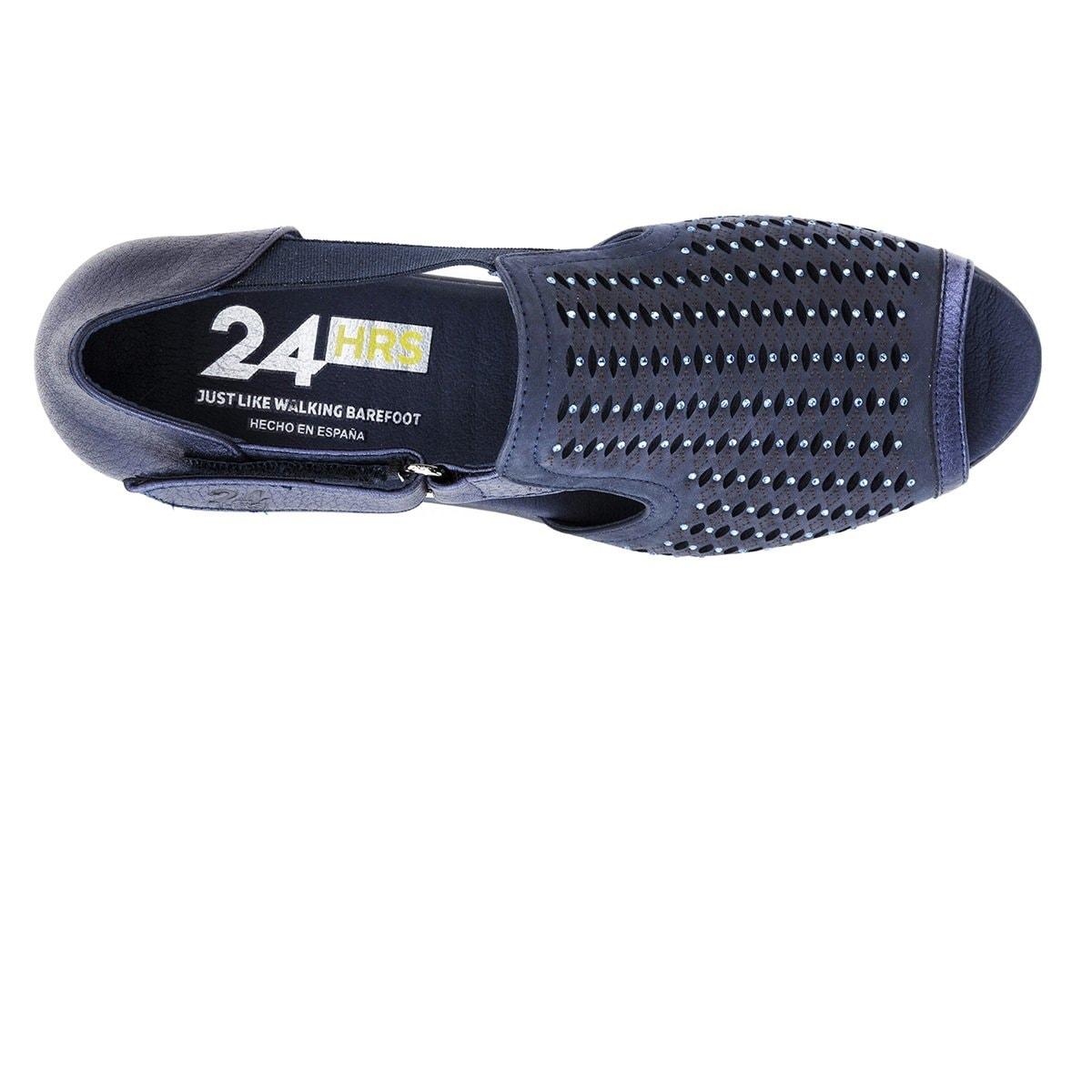 Velcro Con Sandalia Hrs Perforado 24 IeWDH9YE2b