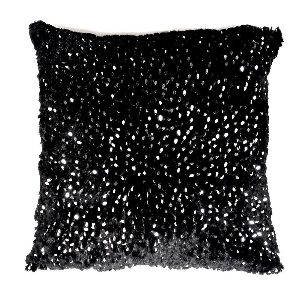 Cojín Decorativo Bear Negro 55X55Cm Abbie Textiles