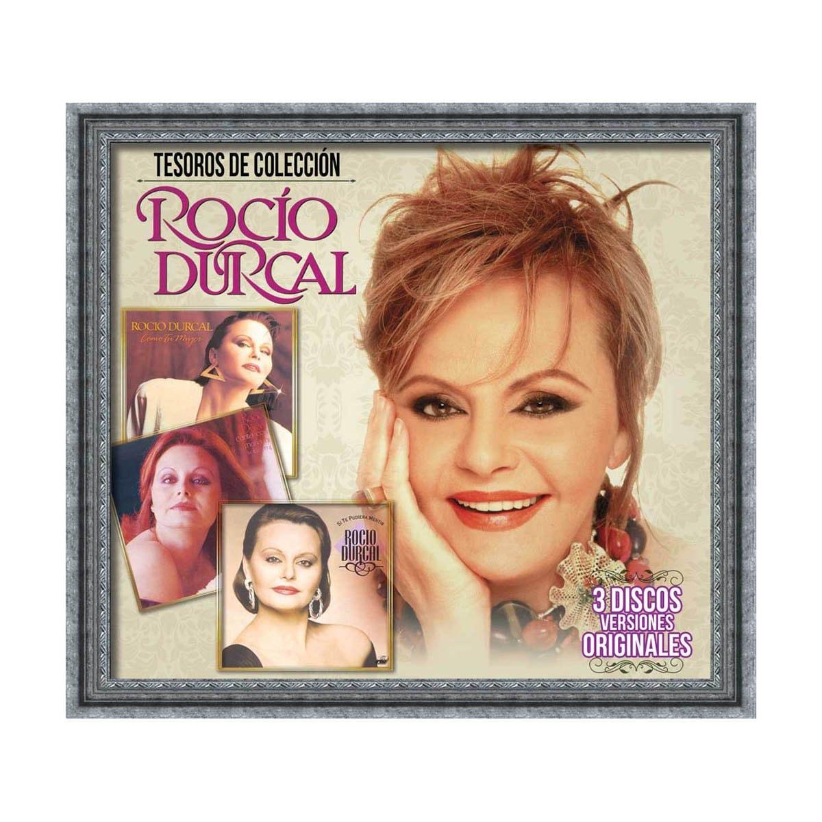 3 Cds Tesoros de Colección Rocio Durcal