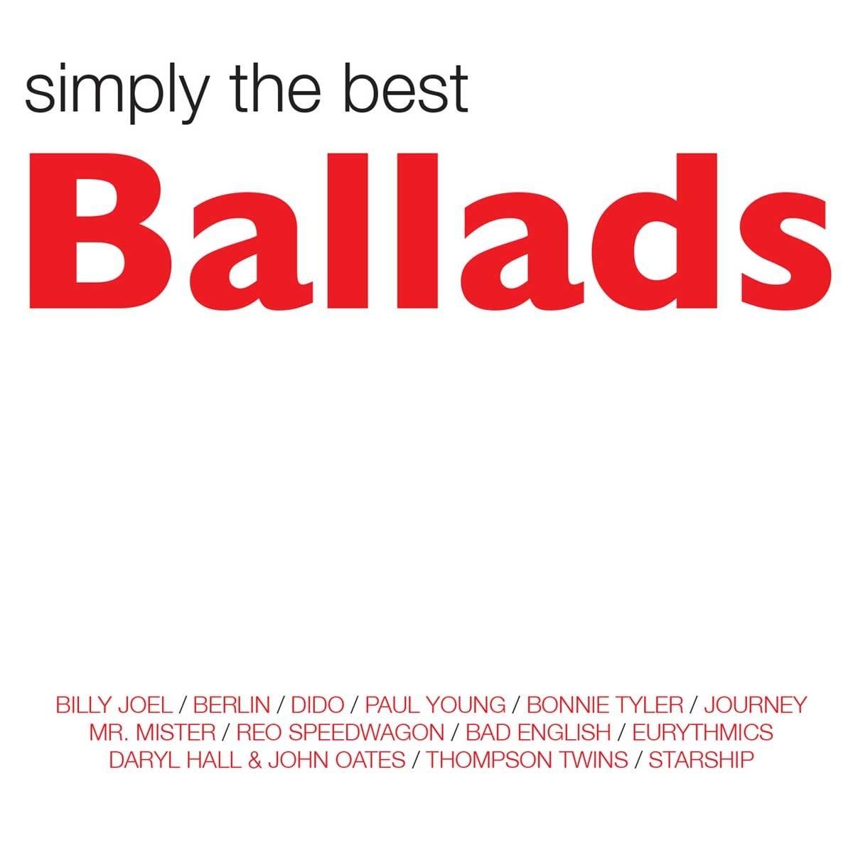 2 Cds + Dvd Artistas Varios Simply The Best Ballads