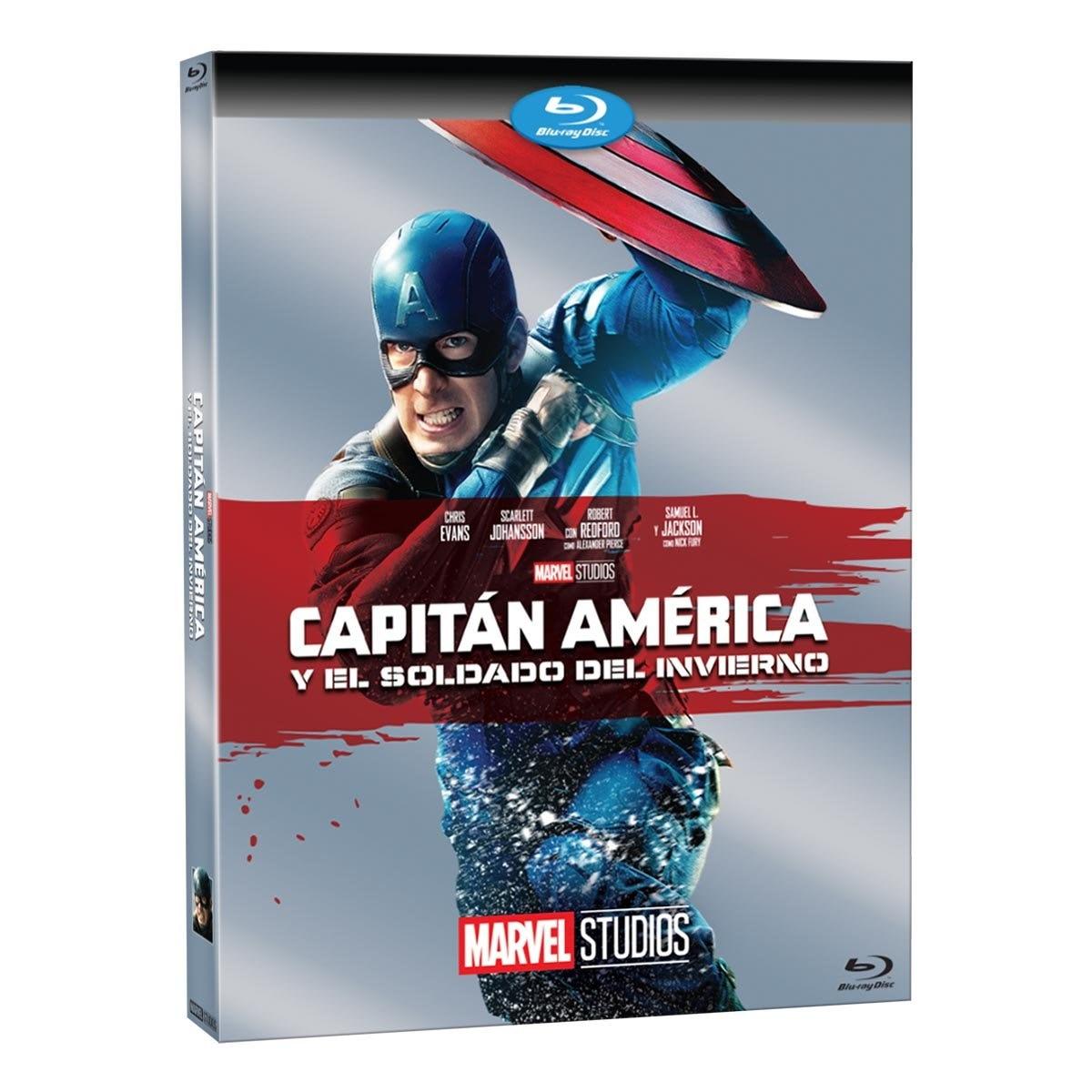Blu Ray Capitán América y el Soldado Del Invierno Marvel
