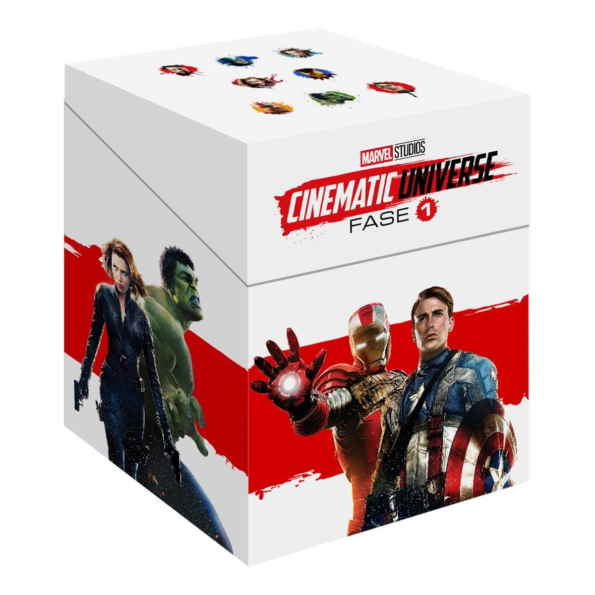 Blu Ray Paquete Especial Universo Marvel Fase 1