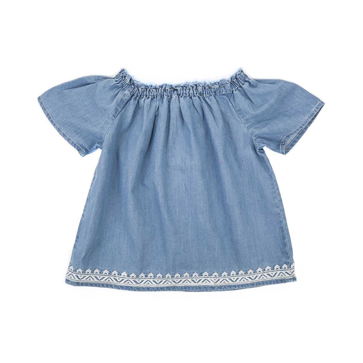 Blusa Bordada Jeanious Baby