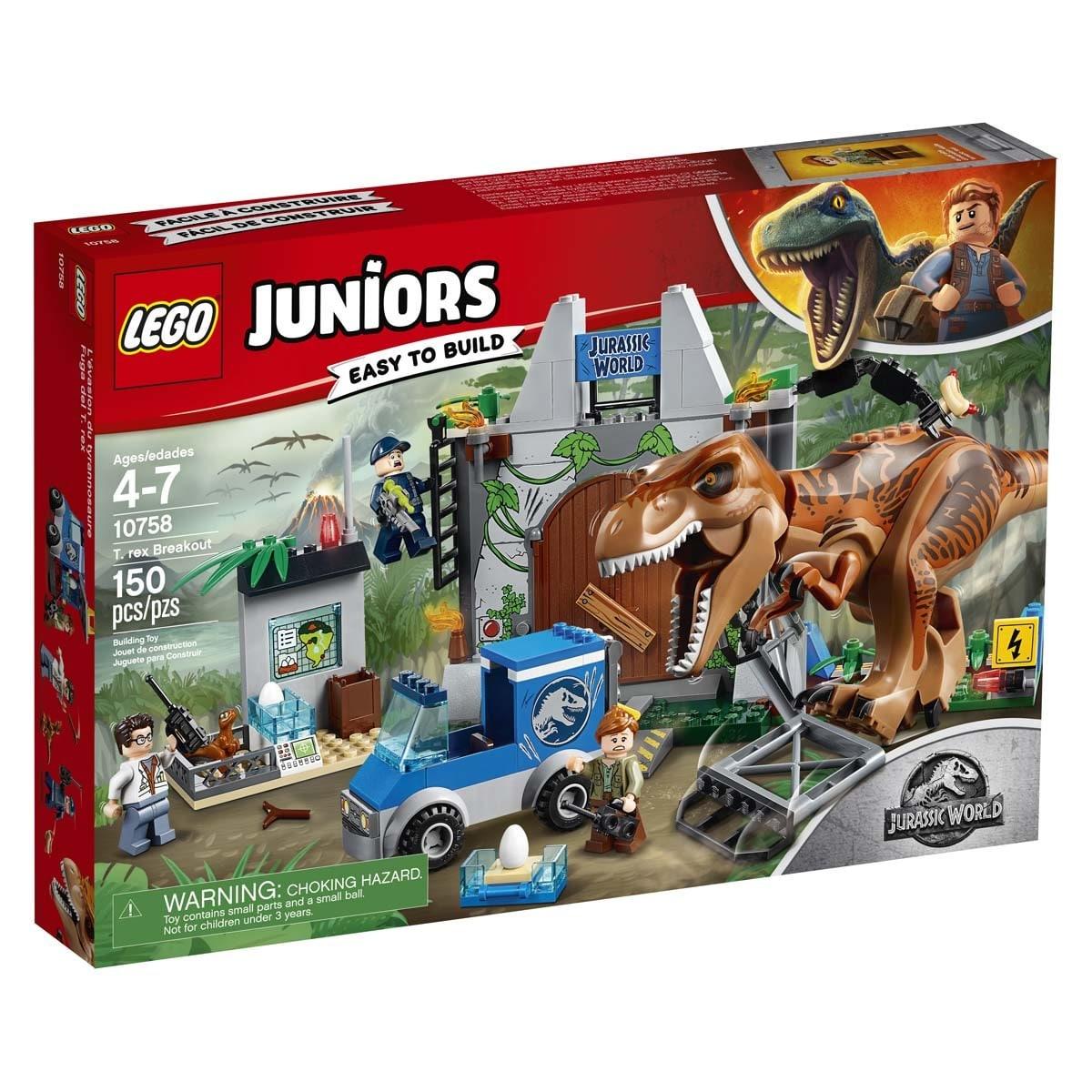 Jurassic World T Rex Attack Lego