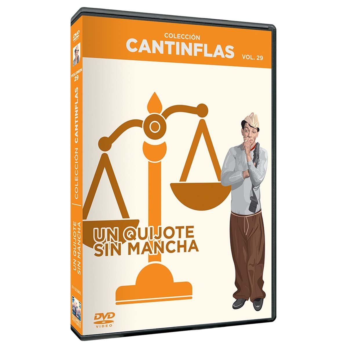 Dvd Coleccion Cantinflas un Quijote Sin Mancha