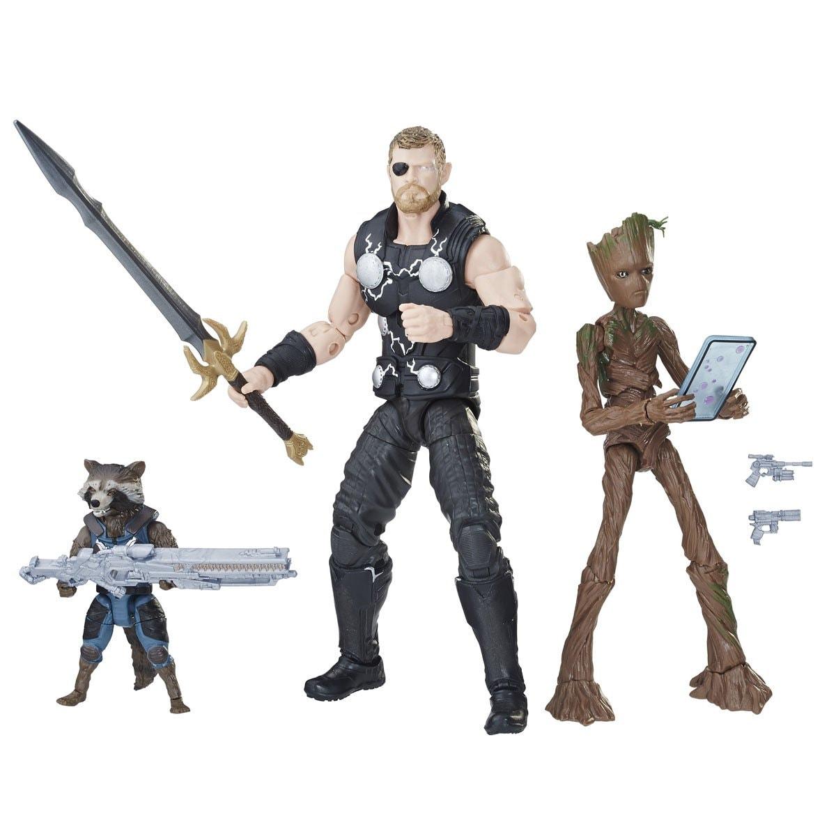 Groot Rocketamp; Figuras Hasbro Thor Marvel MzpVSU