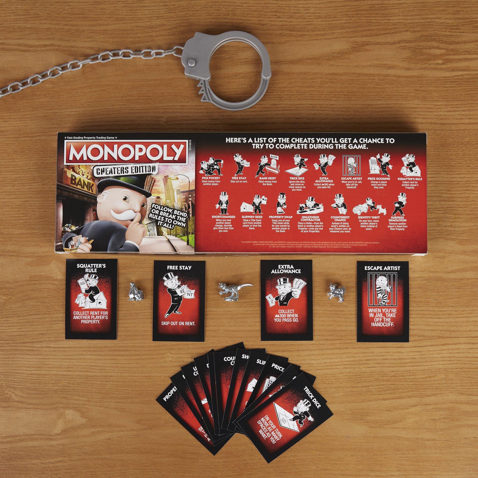 Monopoly Edición para Tramposos Hasbro