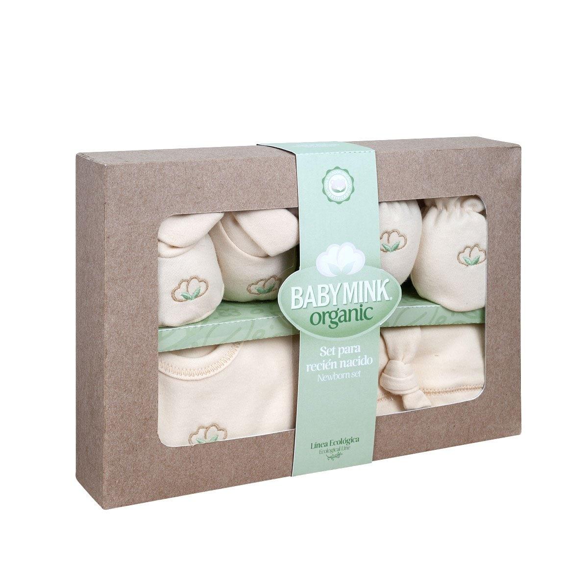 Set para Recién Nacido Organic Baby Mink