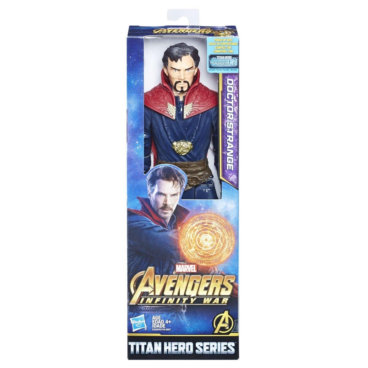Marvel Figura de Acción Dr Strange Titan Hero Series Hasbro