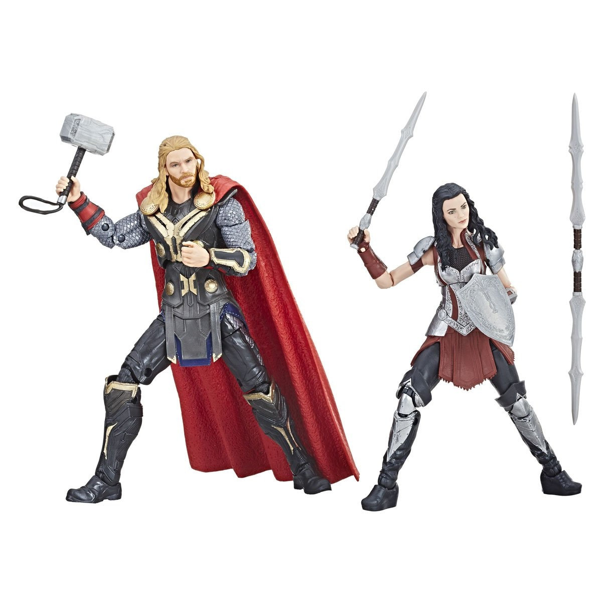 Marvel Thor & Sif Marvel 10Th Anniversary Hasbro