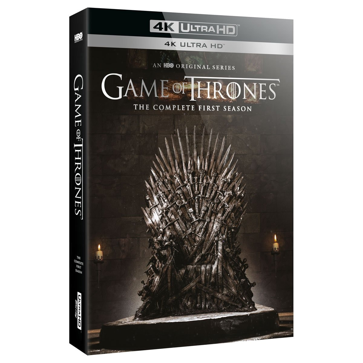 4K Ultra Hd + Blu Ray Game Of Thrones - Temporada 1