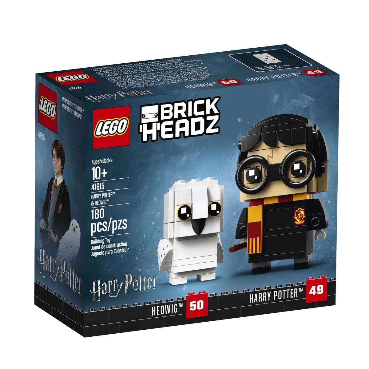 Brickheadz Harry Potter And Hedwig Lego