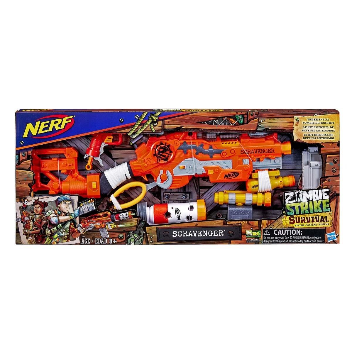 Nerf Scravenger Zombie Strike Hasbro