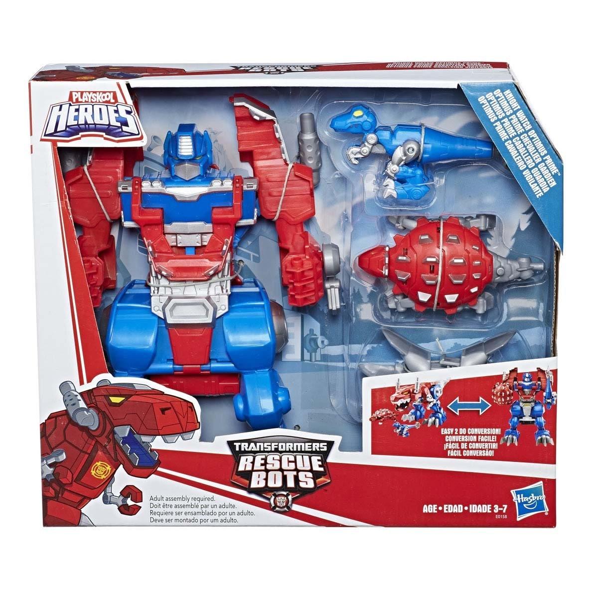 Optimus Guardia Transformers Prime Hasbro Heroes Playskool Caballero nwv8Nm0O