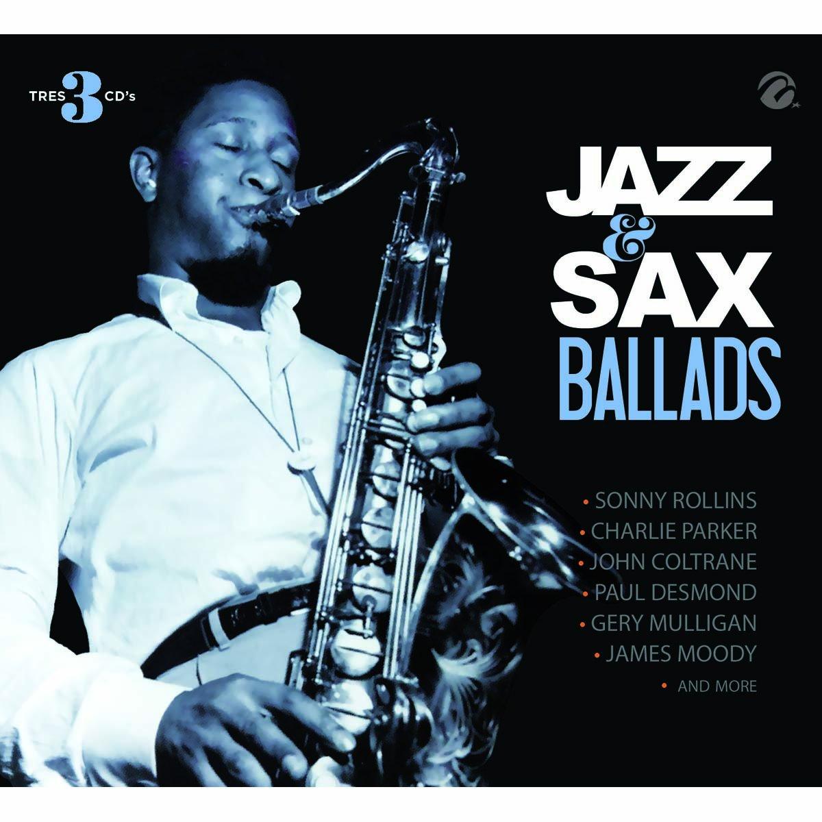 3 Cds Sax & Jazz Ballads