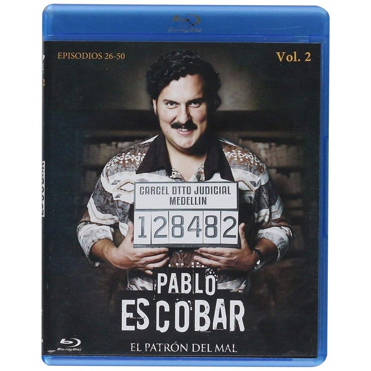Blu Ray Pablo Escobar Volumen 2