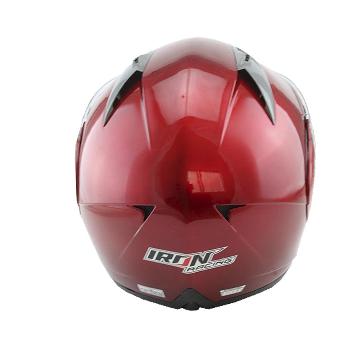 Casco Abatible Rojo Iron Racing - Grande