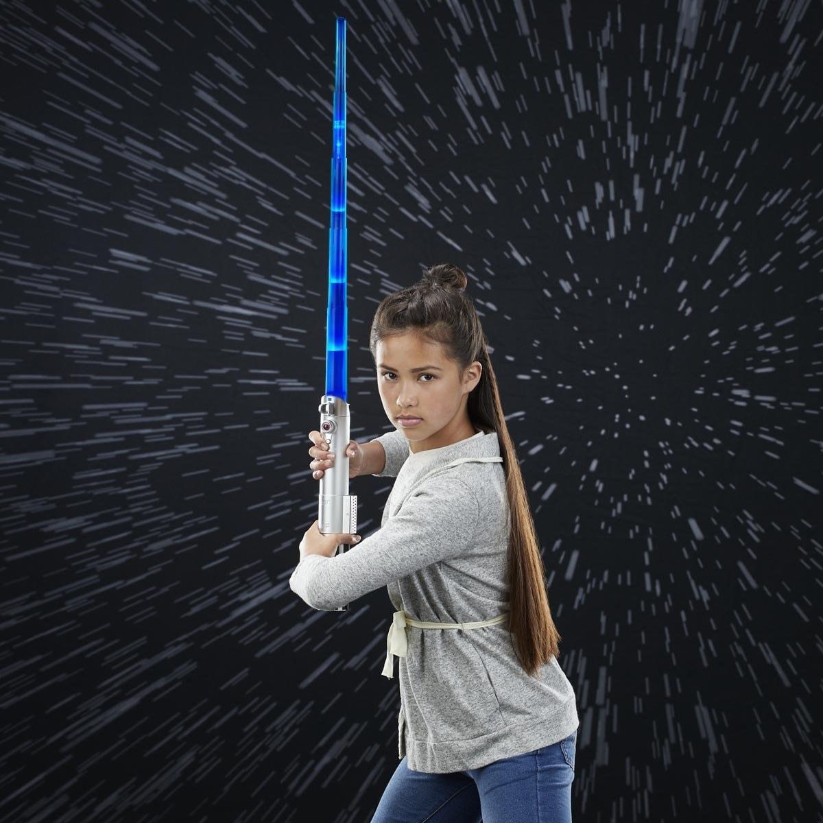 Star Wars Sable de Luz Autoextensible Jedi  Hasbro