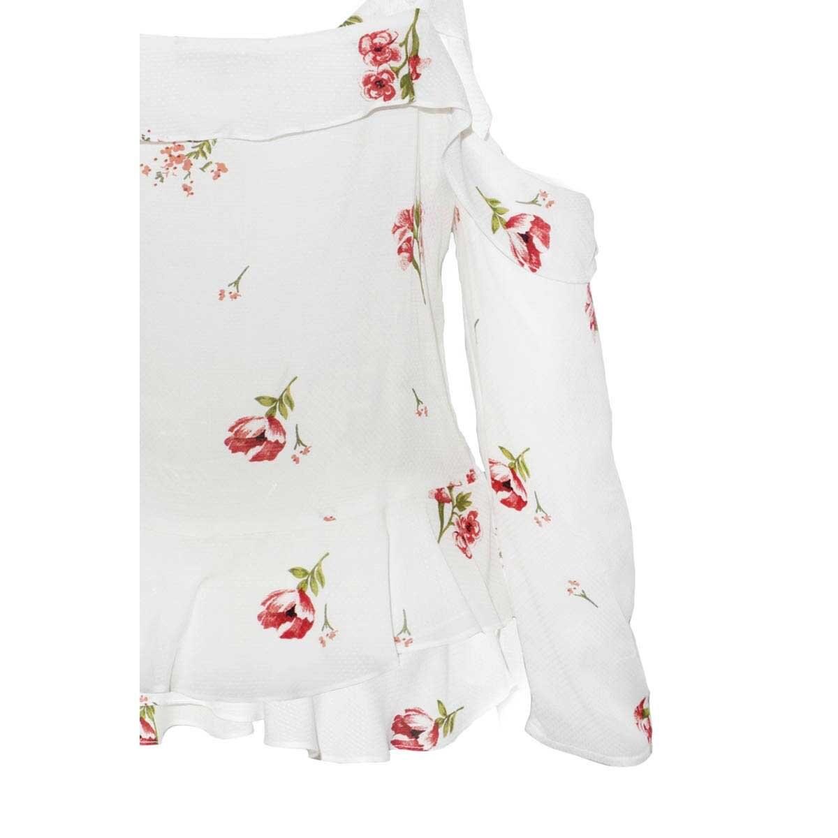 Blusa Estampada Wraps Yhasbel