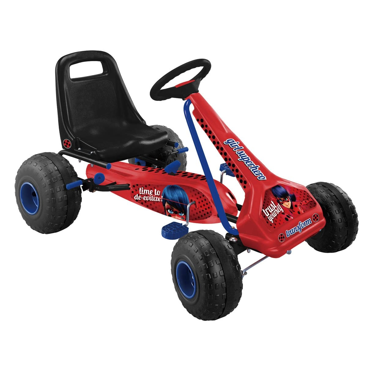 Go Kart Lady Bug Flying Wheel