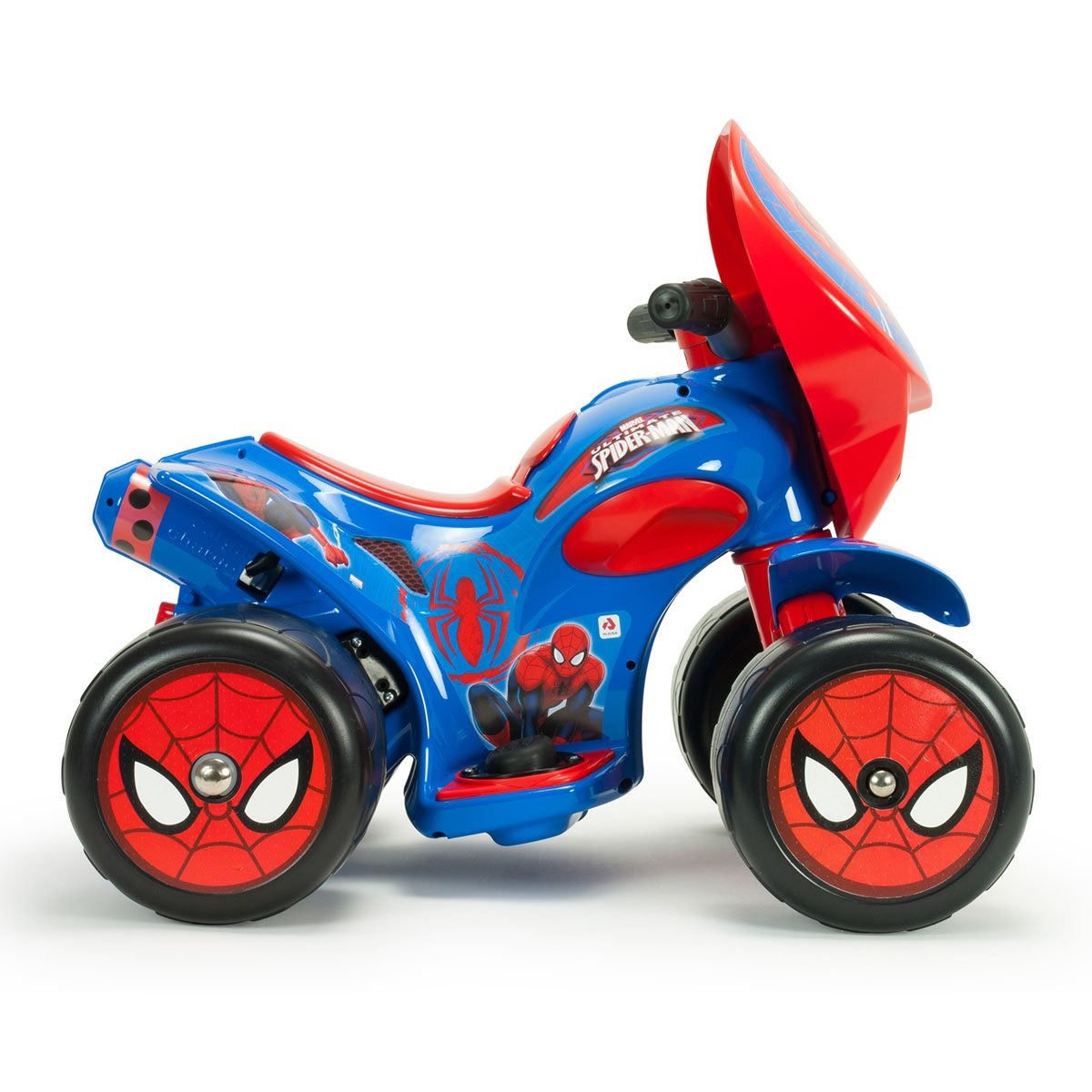 Montable Quad Quarterback  Spiderman 6V Injusa