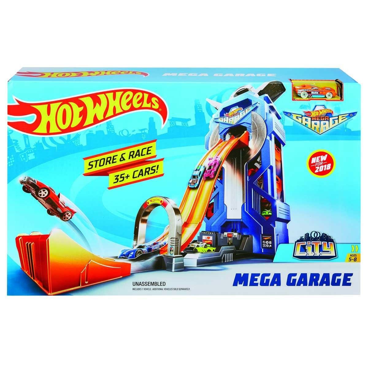 Hot Wheels Mega Garage Mattel