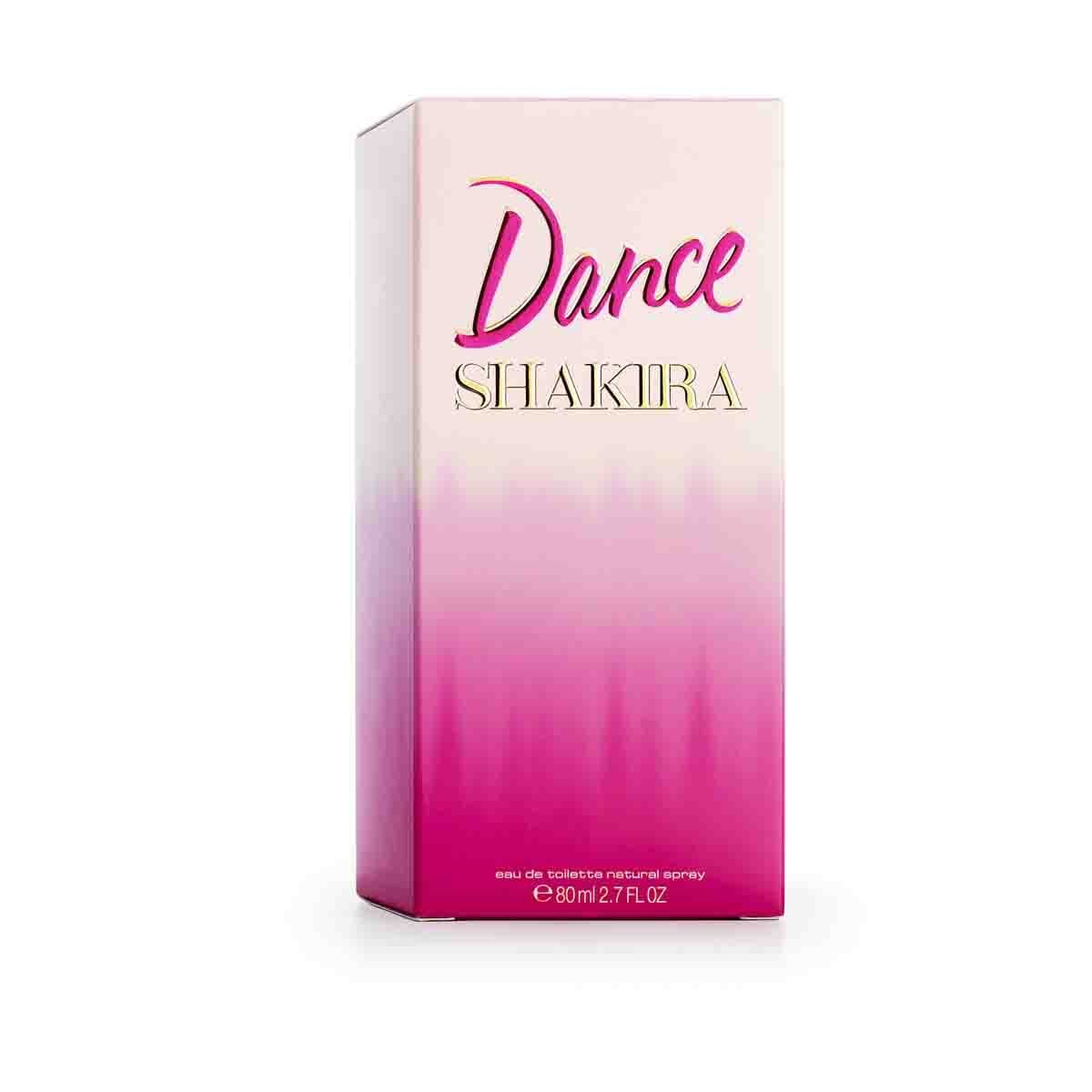 Fragancia para Dama Shakira Dance Edt 80Ml