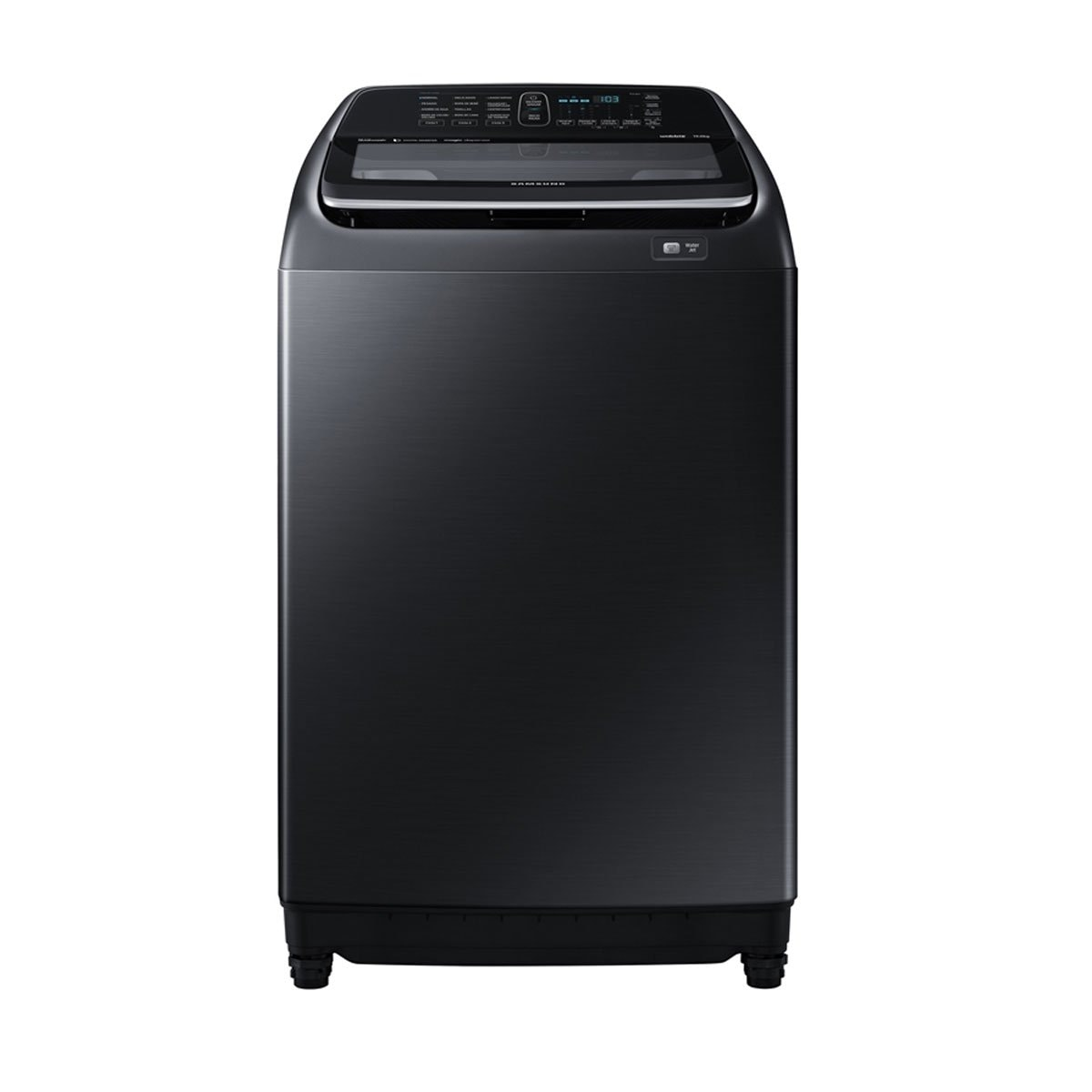 Lavadora Activ Dualwash Negra 19K Samsung