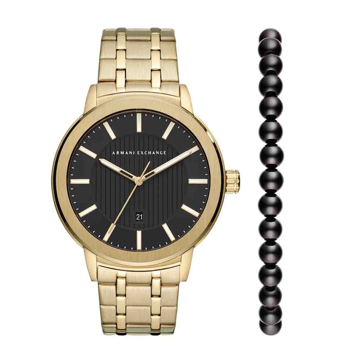 384053510324 Reloj para caballero color dorado armani exchange