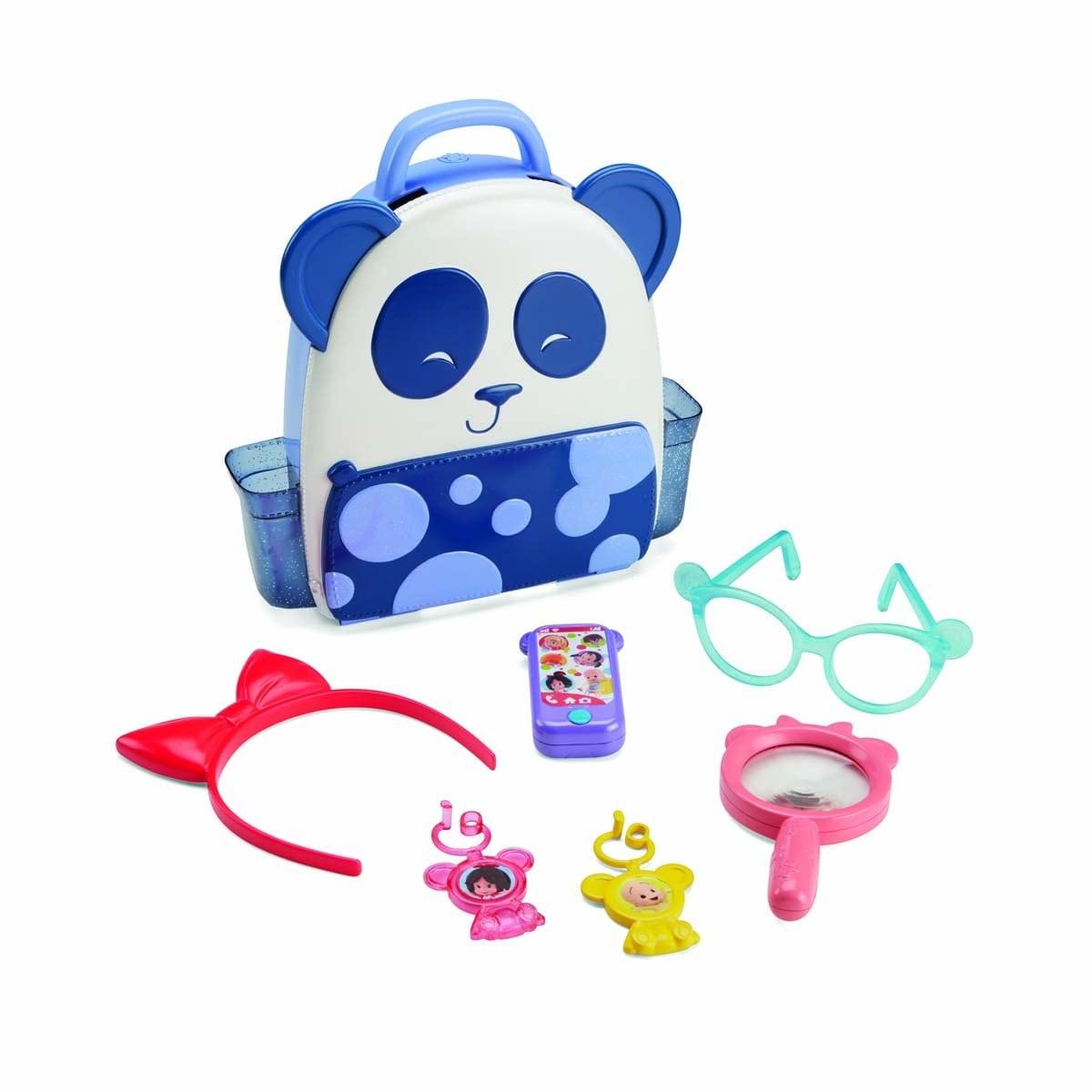 Fisher Price Mochila de Aventuras de Cleo Mattel