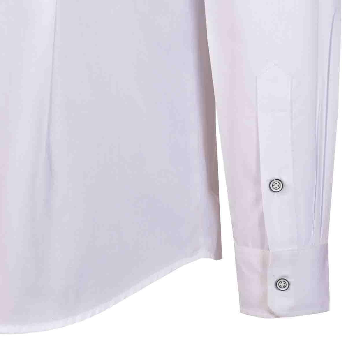 Camisa Slim Fit Manga Larga con Bolsa Estampada Hardpepper