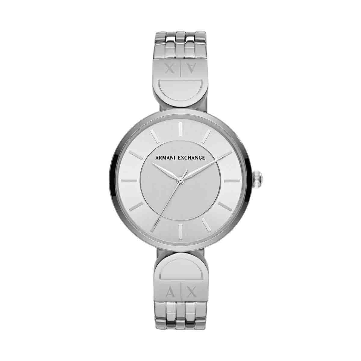 9dd0b5d10379 Reloj para dama color plata armani exchange