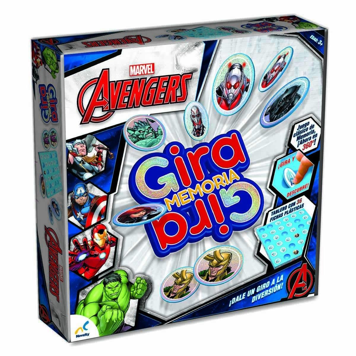 Gira Memoria Avengers Novelty