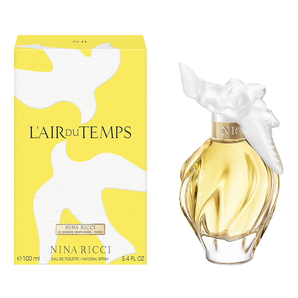 Fragancia para Dama, Nina Ricci L'air Du Temps Edt 100Ml