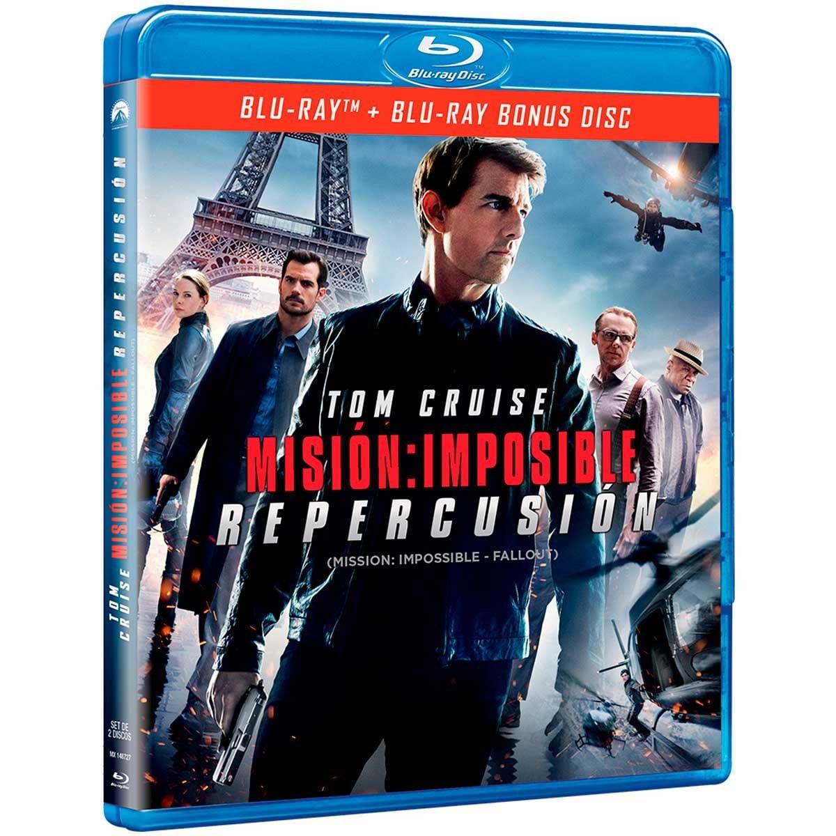 Blu Ray  Misión Imposible Repercusión