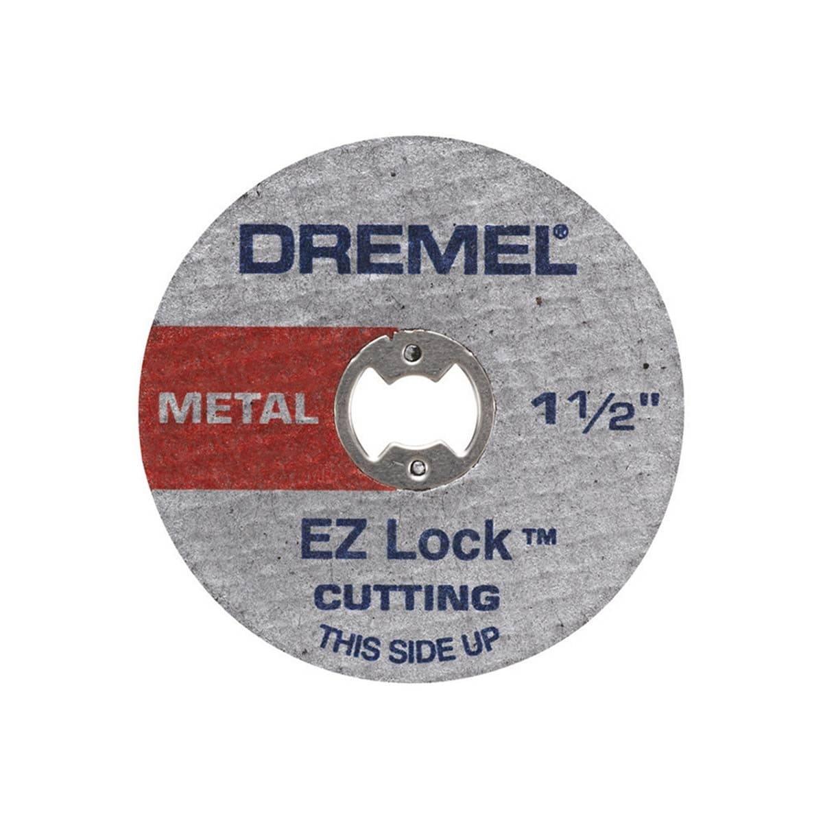 "Disco Corte Metal Ez-Lock 1-1/2"" Incluye (5) Dremel"