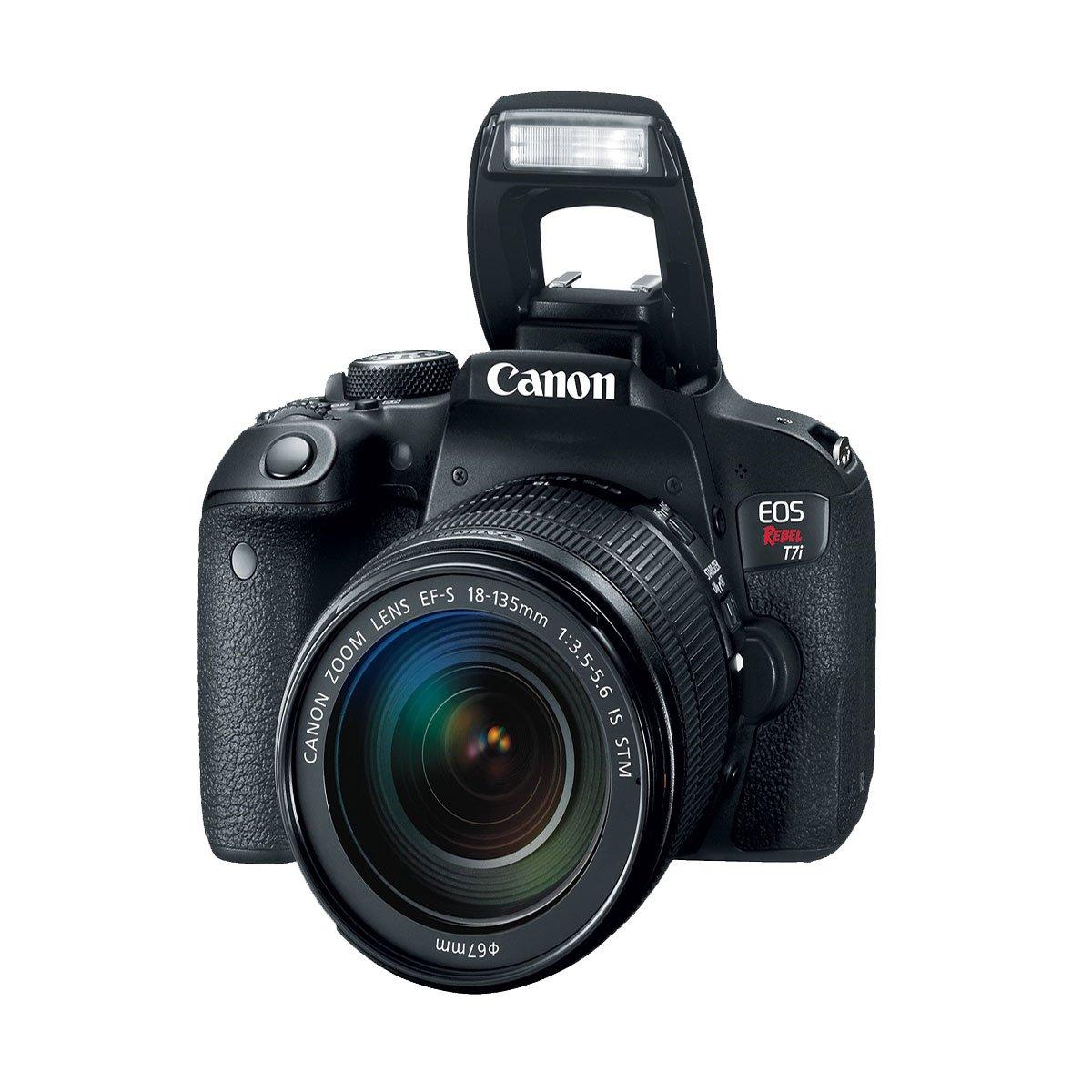 Cámara Canon T7I Lte Ef-S 18-135Mm Is Stm B