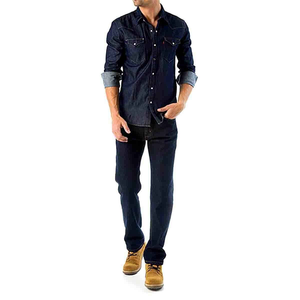 Jeans Recto Levis Para Caballero