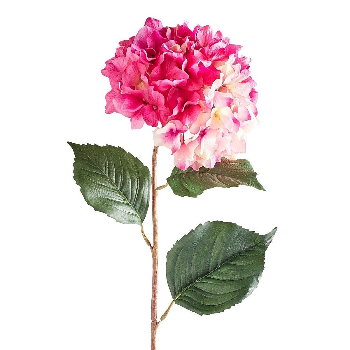 Flor en Tallo Hydrangea  Berry Pink Pier 1 Imports