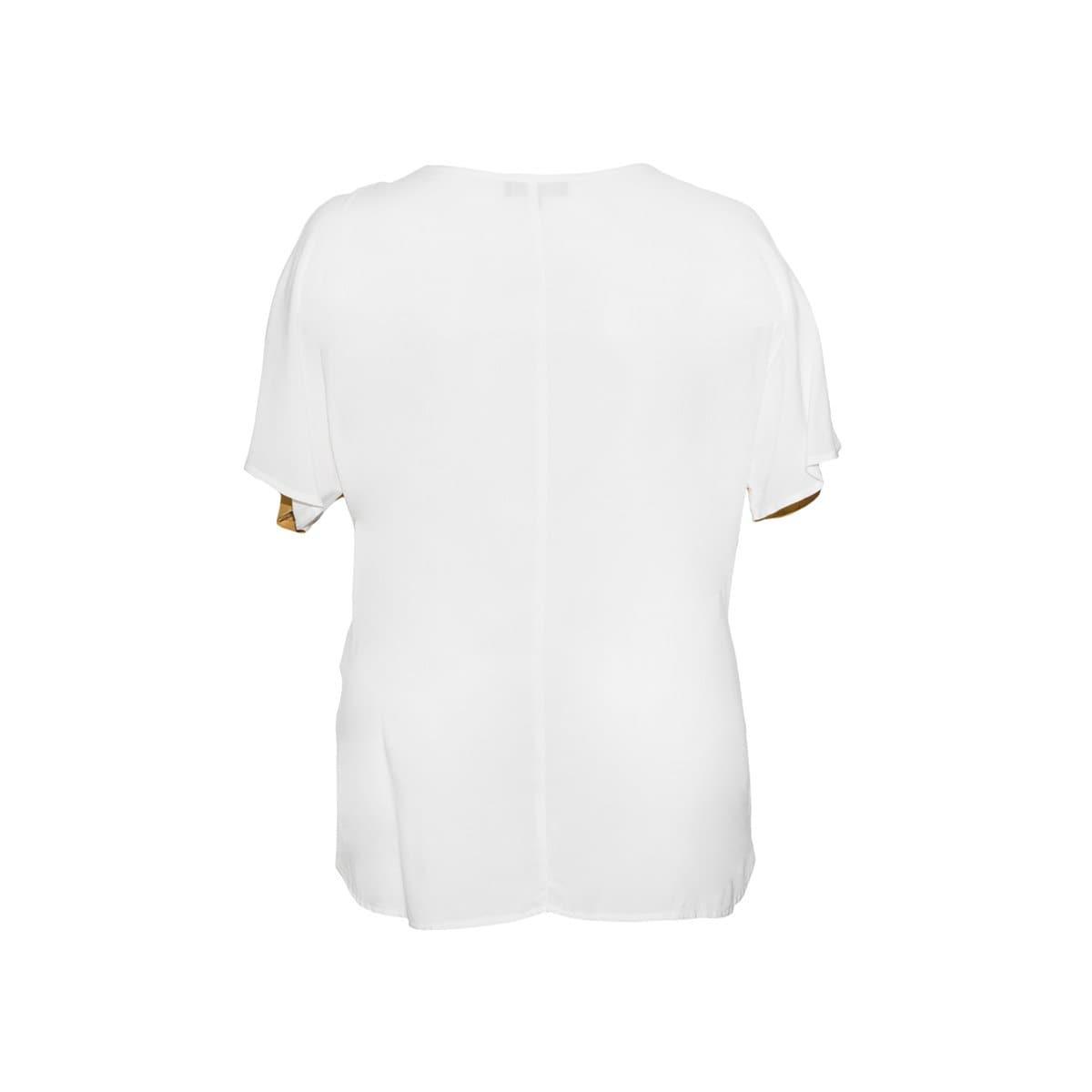 Blusa Diseño Combinado Yhasbel